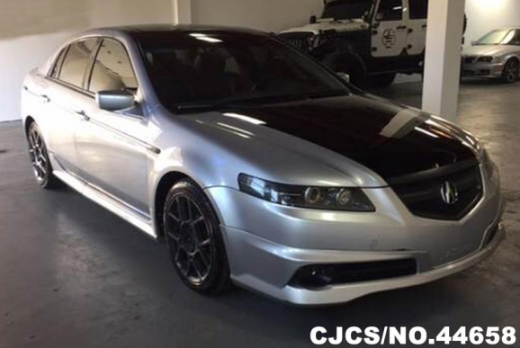 2005 left hand acura tl silver for sale stock no 44658 left hand used cars exporter. Black Bedroom Furniture Sets. Home Design Ideas