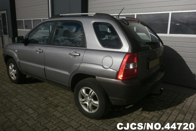 2006 Left Hand Kia Sportage Gray for sale | Stock No. 44720 | Left Hand Used Cars Exporter
