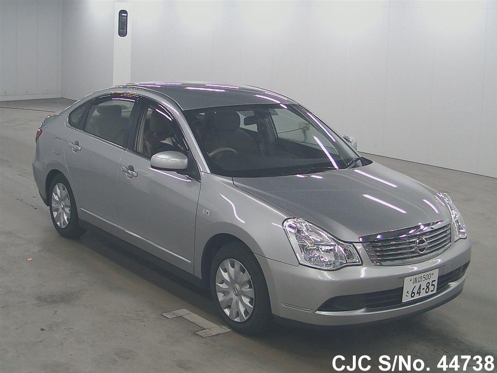 2008 Nissan Bluebird Sylphy Silver For Sale Stock No