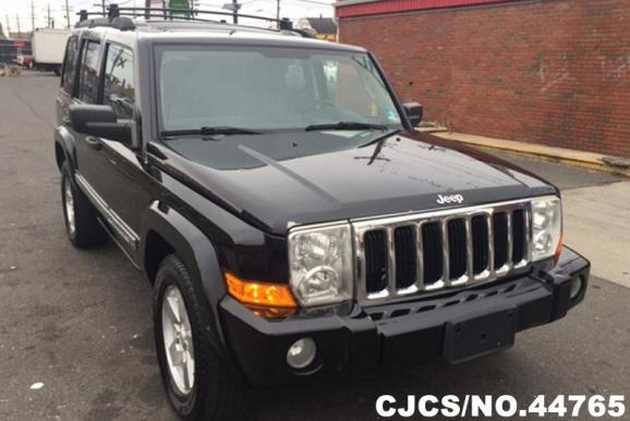 2006 left hand jeep commander black for sale stock no 44765 left hand used cars exporter. Black Bedroom Furniture Sets. Home Design Ideas
