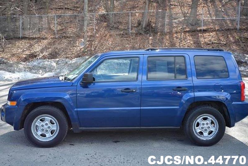 2009 left hand jeep patriot sport blue for sale stock no. Black Bedroom Furniture Sets. Home Design Ideas