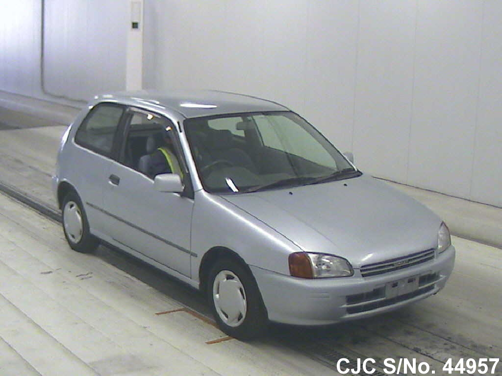 1996 Toyota Starlet Silver For Sale Stock No 44957