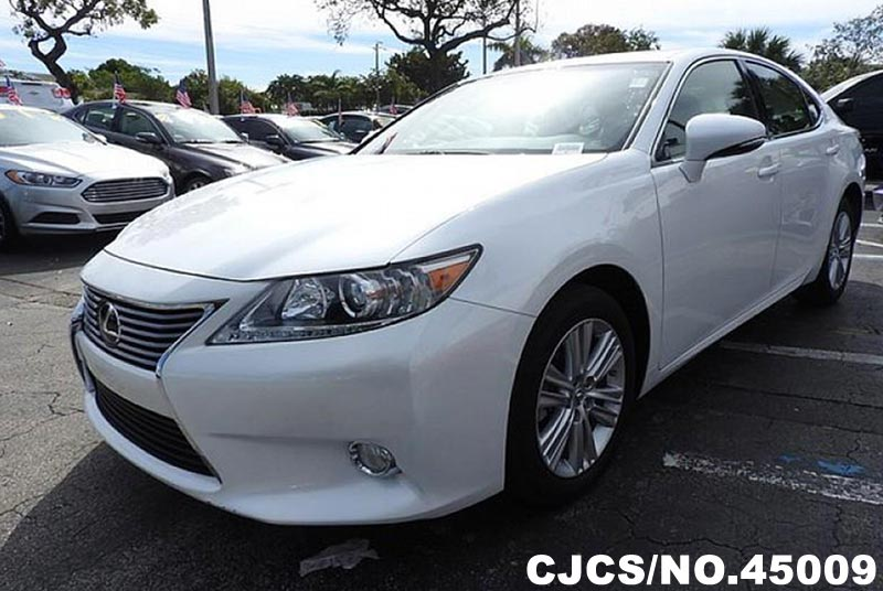 2013 left hand lexus es 350 white for sale stock no 45009 left hand used cars exporter. Black Bedroom Furniture Sets. Home Design Ideas