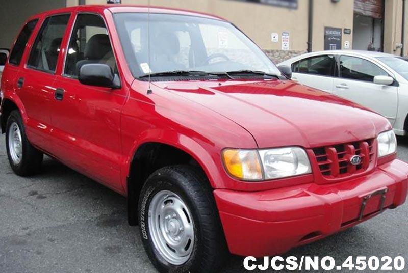 2001 left hand kia sportage red for sale stock no 45020 for 2001 kia sportage window motor