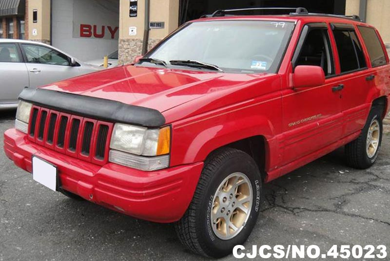 1996 left hand jeep grand cherokee red for sale stock no 45023 left hand used cars exporter. Black Bedroom Furniture Sets. Home Design Ideas
