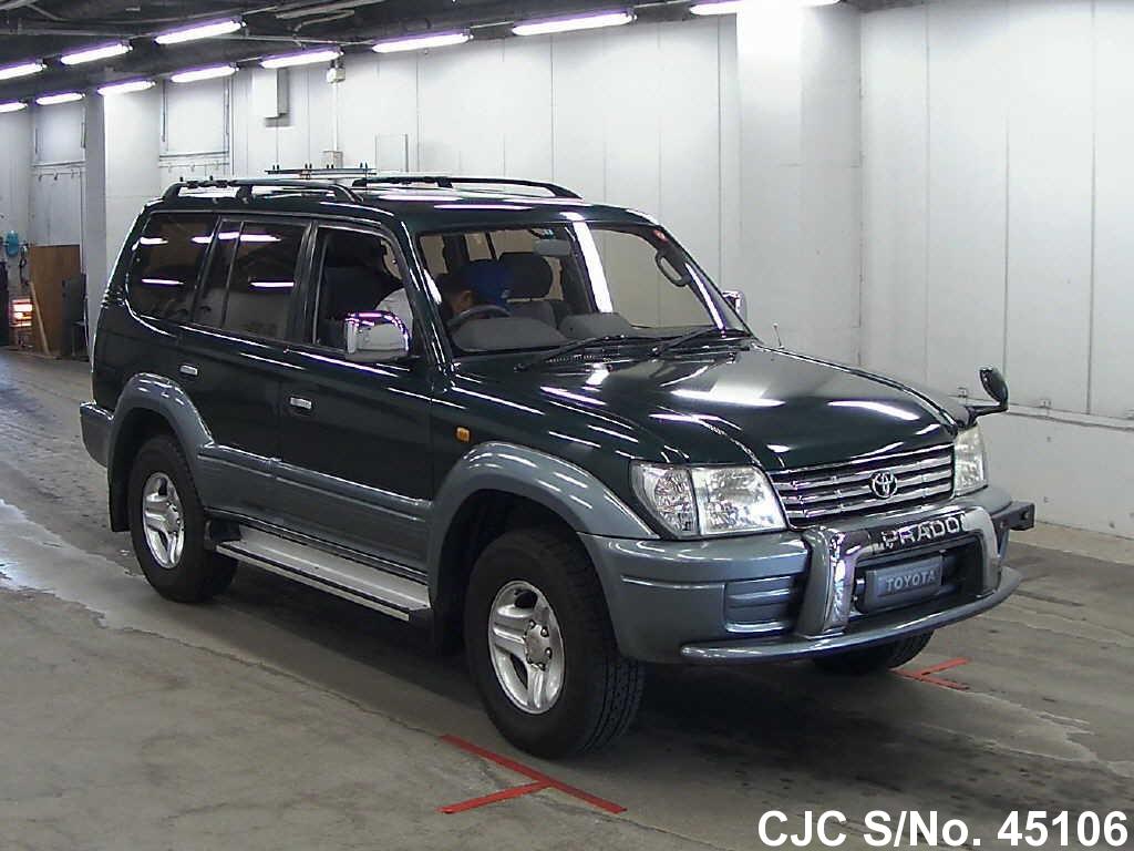 2001 Toyota Land Cruiser Prado Green For Sale Stock No 45106