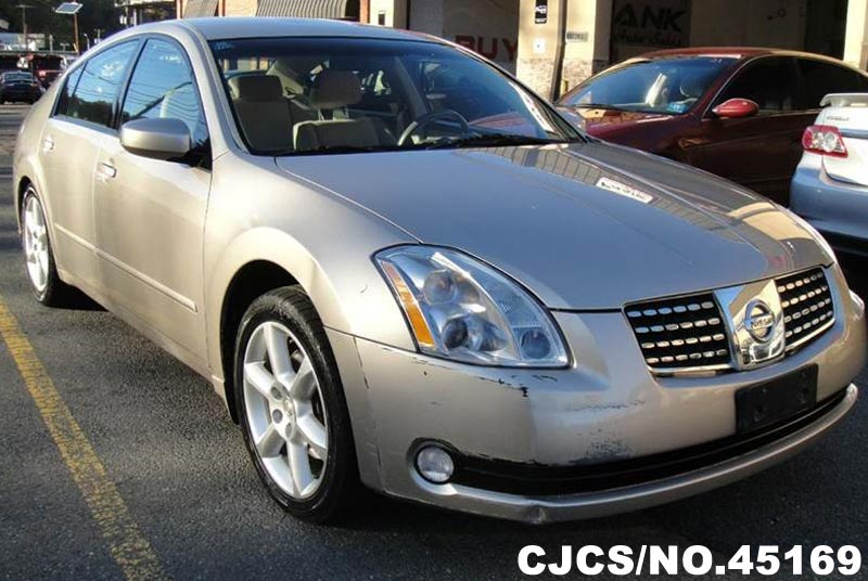 2006 Left Hand Nissan Maxima Beige For Sale Stock No