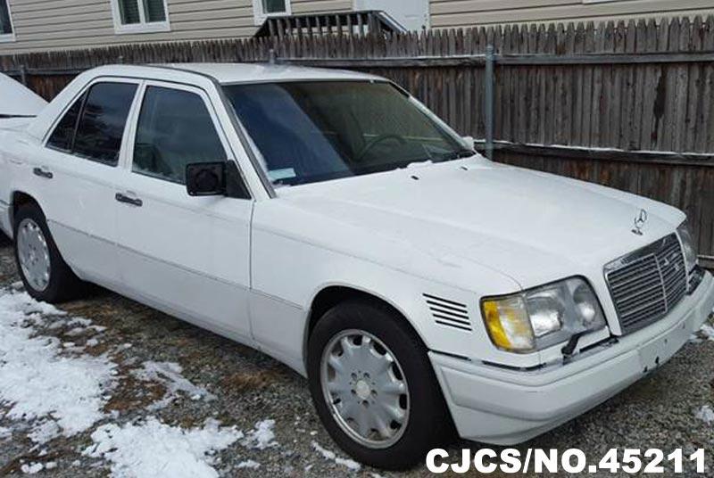 1995 left hand mercedes benz e class white for sale for 1995 mercedes benz e class