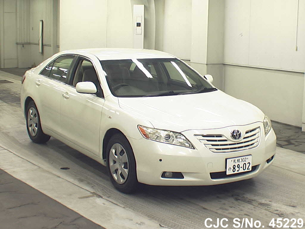 2006 toyota camry pearl for sale stock no 45229 japanese used cars exporter. Black Bedroom Furniture Sets. Home Design Ideas