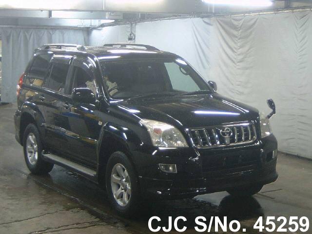2005 toyota land cruiser prado black for sale stock no 45259 japanese used cars exporter. Black Bedroom Furniture Sets. Home Design Ideas