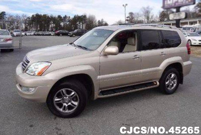 2008 Left Hand Lexus Gx 470 Gold For Sale Stock No