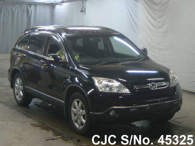 2006 honda crv black for sale stock no 45325 japanese used cars exporter. Black Bedroom Furniture Sets. Home Design Ideas