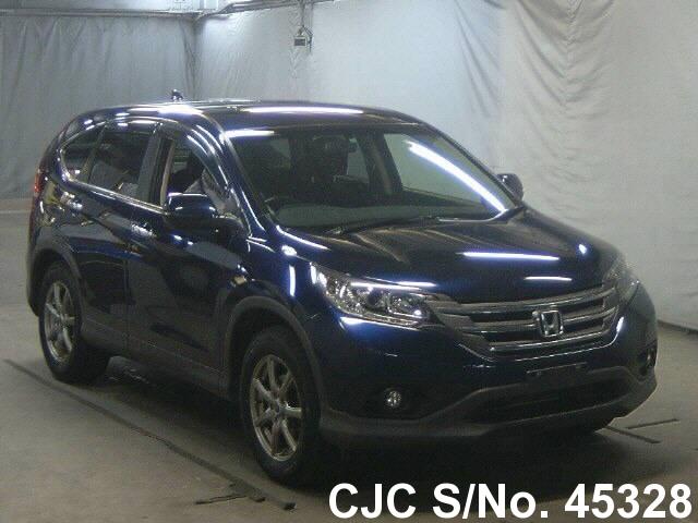 2013 honda crv blue for sale stock no 45328 japanese used cars exporter. Black Bedroom Furniture Sets. Home Design Ideas