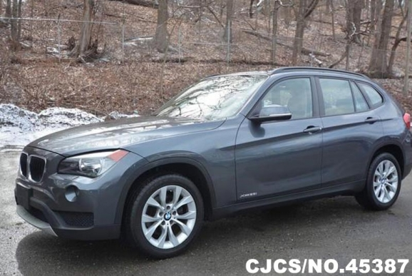 2013 left hand bmw x1 gray for sale stock no 45387 left hand used cars exporter. Black Bedroom Furniture Sets. Home Design Ideas