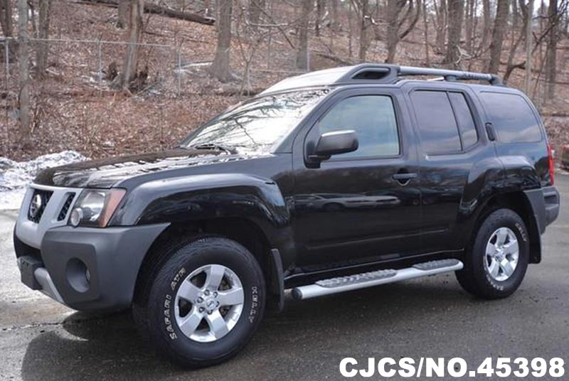 2009 left hand nissan xterra black for sale stock no 45398 left hand used cars exporter. Black Bedroom Furniture Sets. Home Design Ideas