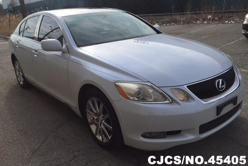 2006 left hand lexus gs300 pearl white for sale stock no. Black Bedroom Furniture Sets. Home Design Ideas