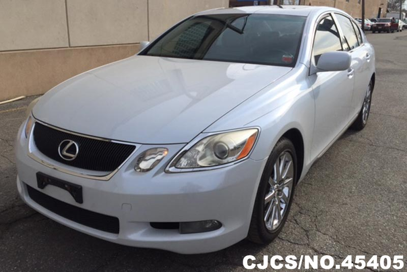 2006 left hand lexus gs300 pearl white for sale stock no 45405 left hand used cars exporter. Black Bedroom Furniture Sets. Home Design Ideas