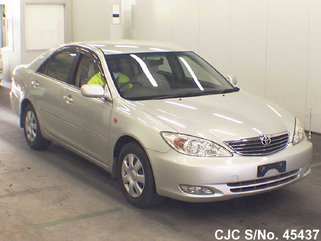 2003 toyota camry silver for sale stock no 45437. Black Bedroom Furniture Sets. Home Design Ideas