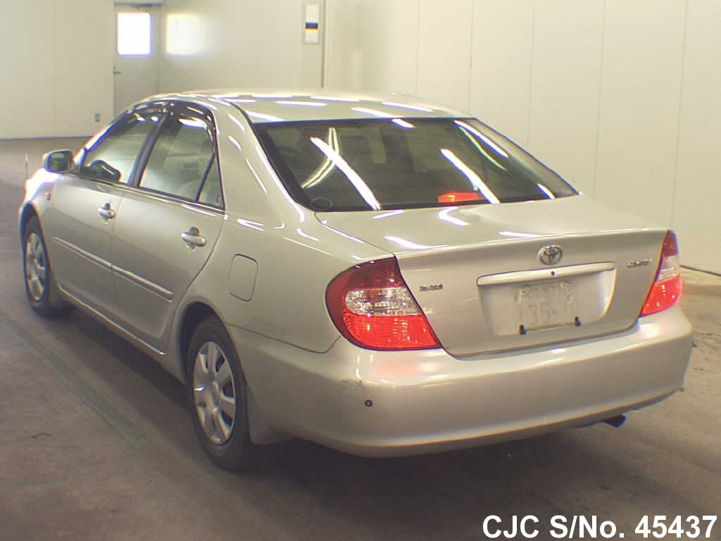 2003 toyota camry silver for sale stock no 45437 japanese used cars exporter. Black Bedroom Furniture Sets. Home Design Ideas