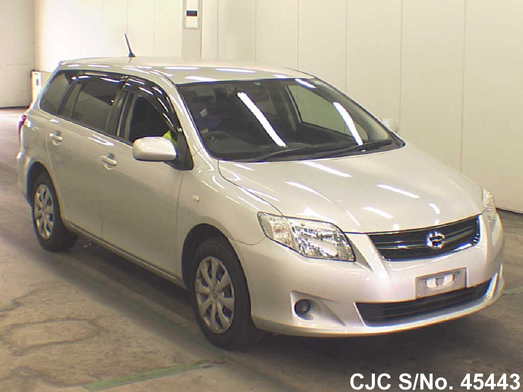 2011 toyota corolla fielder silver for sale stock no 45443 japanese used cars exporter. Black Bedroom Furniture Sets. Home Design Ideas