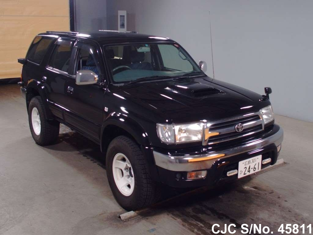 1998 toyota hilux surf 4runner black for sale stock no. Black Bedroom Furniture Sets. Home Design Ideas