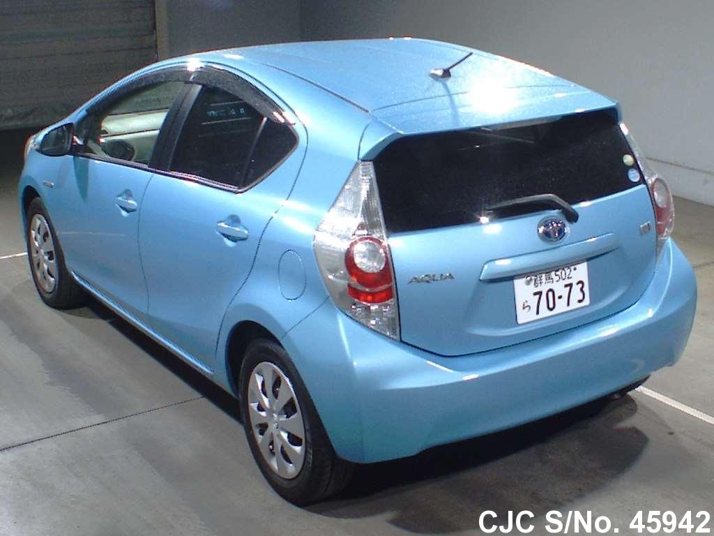 2012 Toyota / Aqua Stock No. 45942. Vehicle Details; Extras