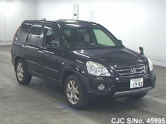 2006 honda crv black for sale stock no 45995 japanese used cars exporter. Black Bedroom Furniture Sets. Home Design Ideas