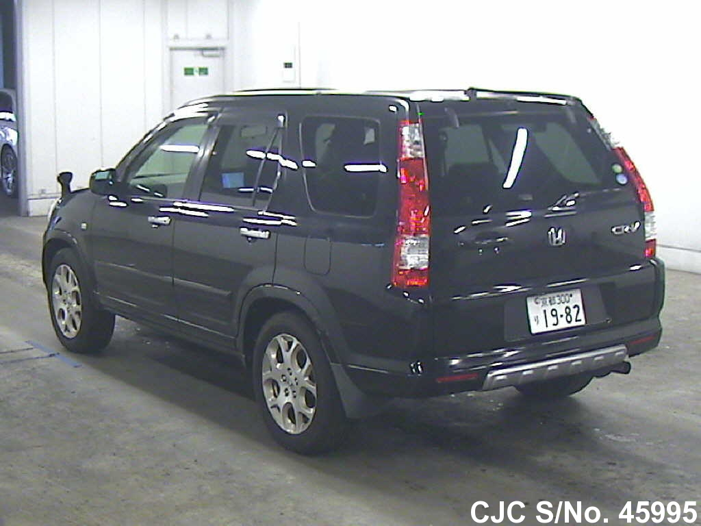 2006 honda crv black for sale stock no 45995 japanese used cars exporter. Black Bedroom Furniture Sets. Home Design Ideas