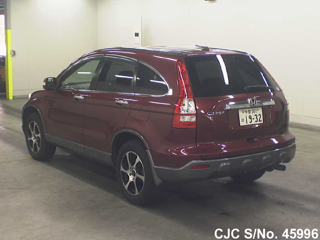 2006 honda crv wine red for sale stock no 45996 japanese used cars exporter. Black Bedroom Furniture Sets. Home Design Ideas
