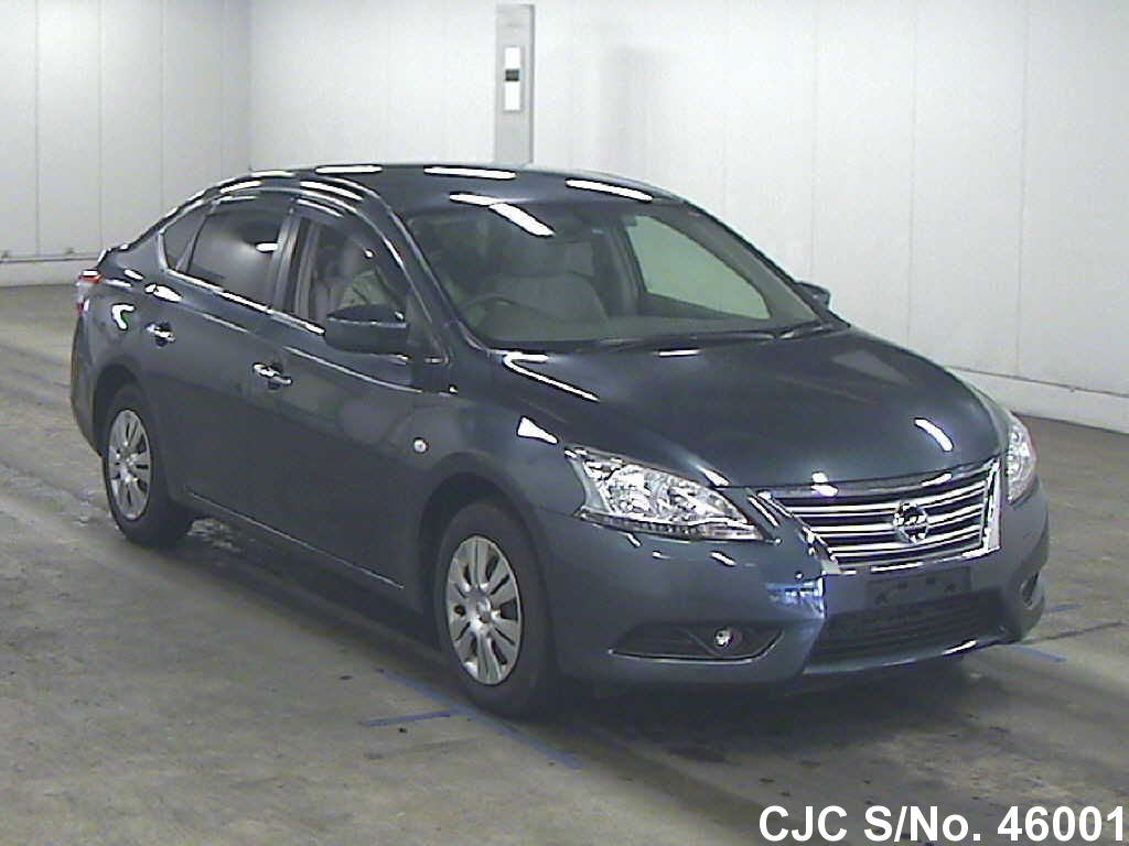 2013 Nissan Bluebird Sylphy Blue For Sale Stock No