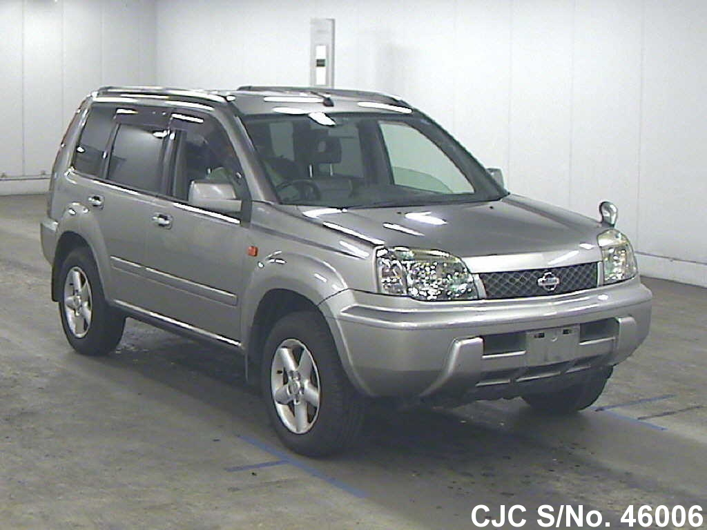 2003 nissan x trail gray for sale stock no 46006 japanese used cars exporter. Black Bedroom Furniture Sets. Home Design Ideas
