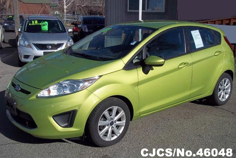 2011 left hand ford fiesta green for sale stock no 46048 left hand used cars exporter. Black Bedroom Furniture Sets. Home Design Ideas