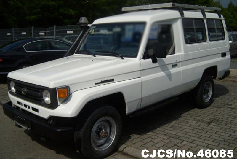 1996 left hand toyota land cruiser white for sale stock. Black Bedroom Furniture Sets. Home Design Ideas