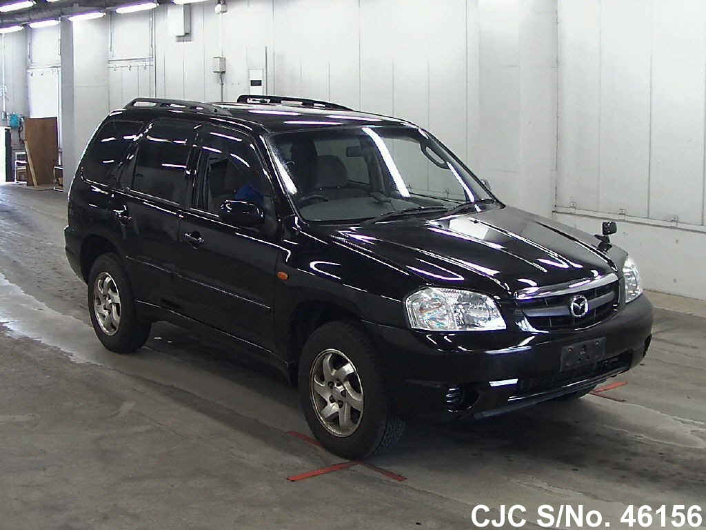 2001 mazda tribute black for sale stock no 46156. Black Bedroom Furniture Sets. Home Design Ideas