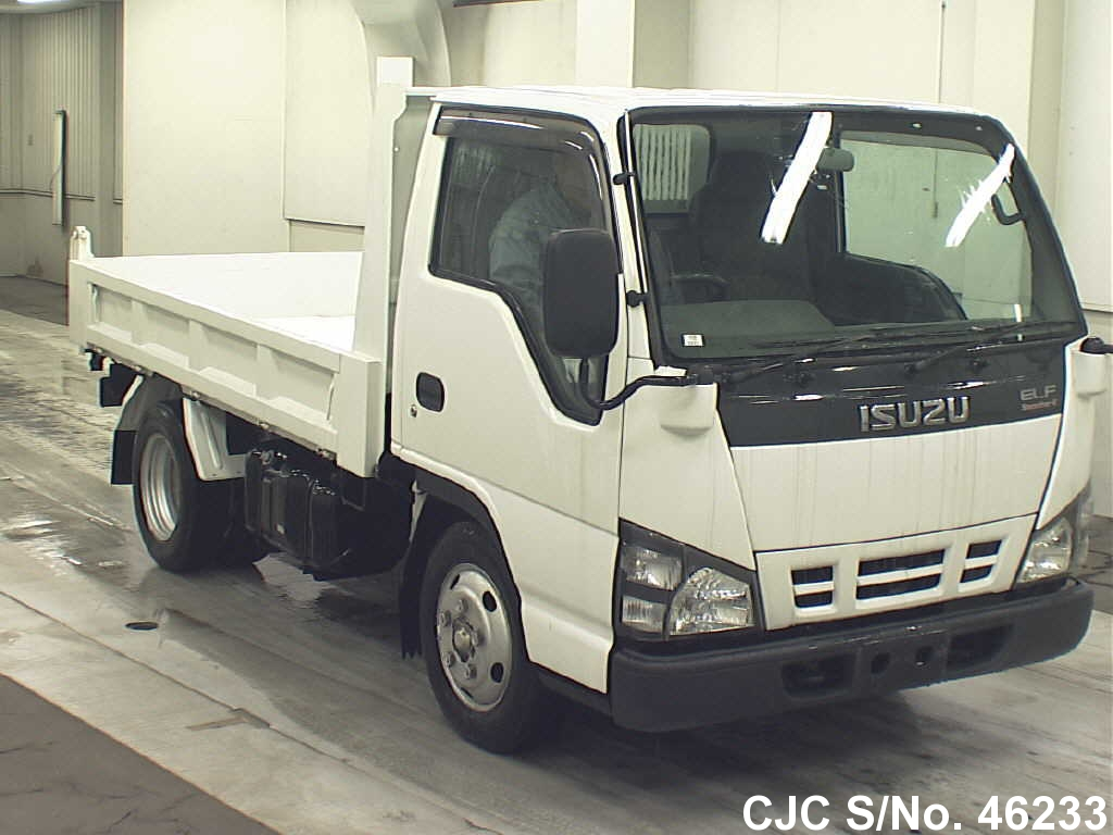 2005 isuzu elf truck for sale stock no 46233 japanese used cars exporter. Black Bedroom Furniture Sets. Home Design Ideas