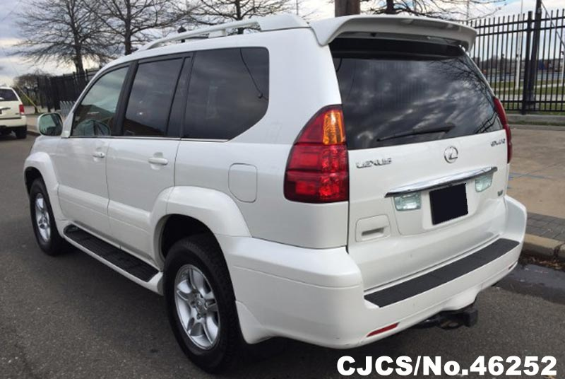 2007 left hand lexus gx 470 white for sale stock no 46252 left hand used cars exporter. Black Bedroom Furniture Sets. Home Design Ideas