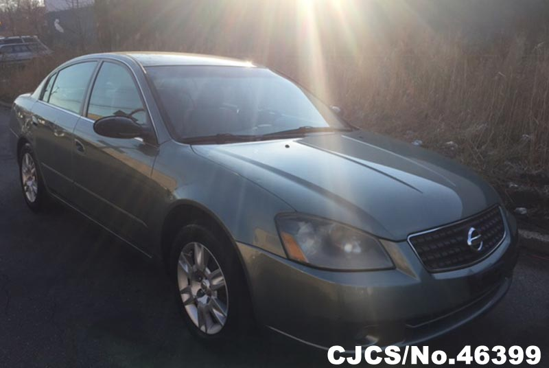 2005 Left Hand Nissan Altima Green For Sale Stock No 46399 Left