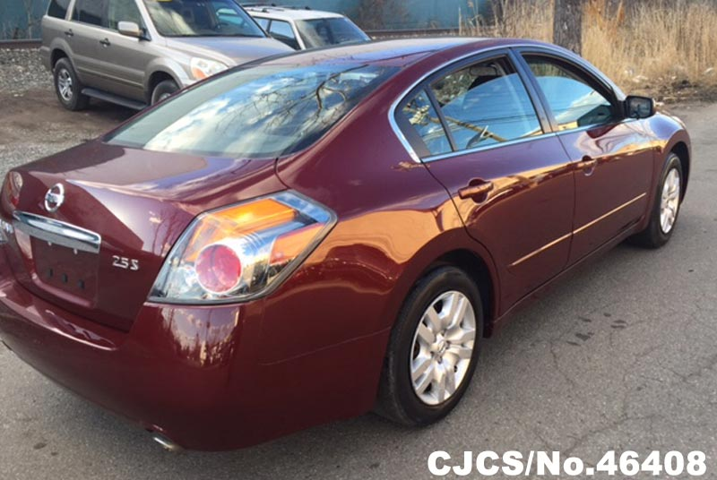 Used Nissan Altima For Sale >> 2012 Left Hand Nissan Altima Burgundy for sale | Stock No. 46408 | Left Hand Used Cars Exporter