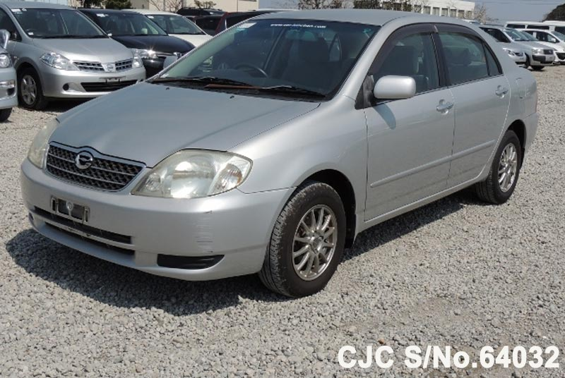 2002 Toyota / Corolla Stock No. 64032