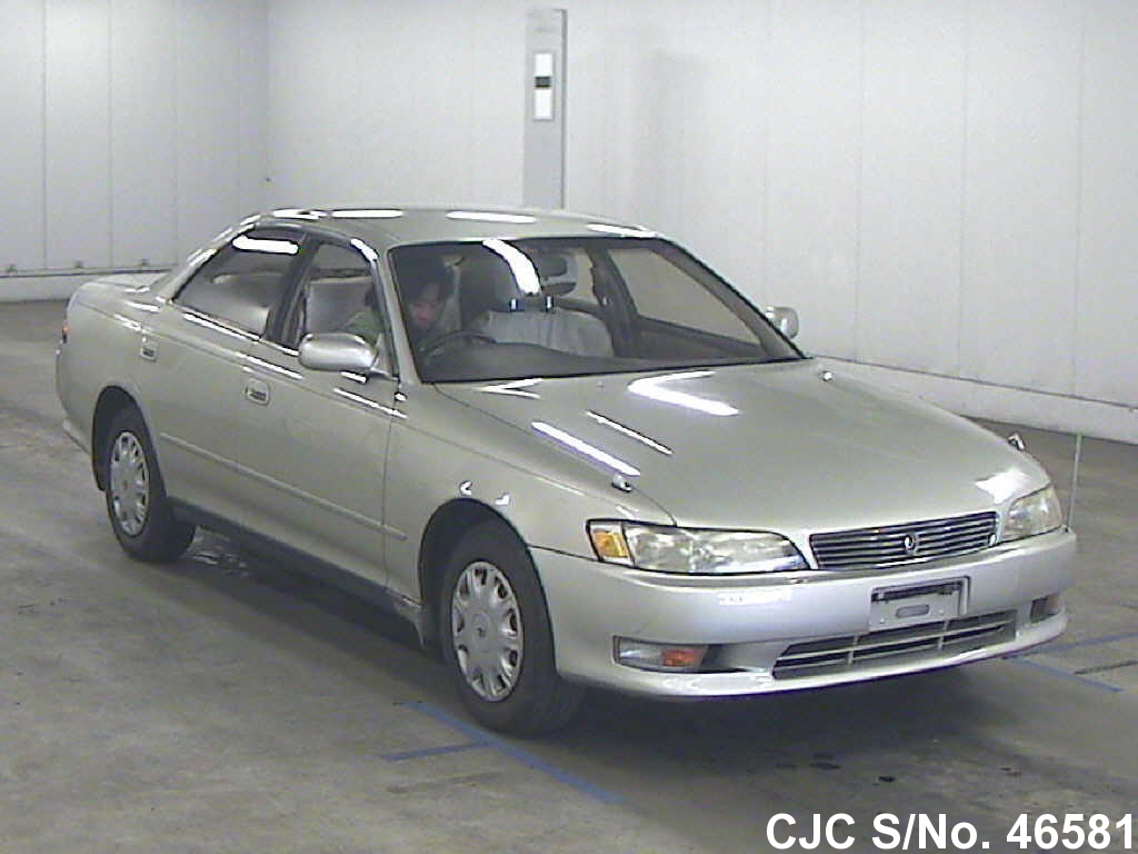 1994 toyota mark ii silver for sale stock no 46581 japanese used cars exporter. Black Bedroom Furniture Sets. Home Design Ideas