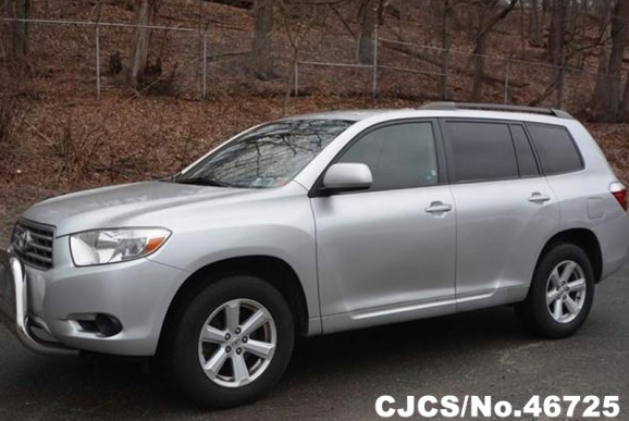 2008 left hand toyota highlander silver for sale stock no 46725 left hand used cars exporter. Black Bedroom Furniture Sets. Home Design Ideas