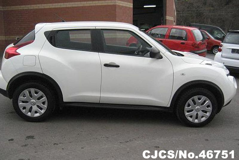 2013 left hand nissan juke white for sale stock no 46751 left hand used cars exporter