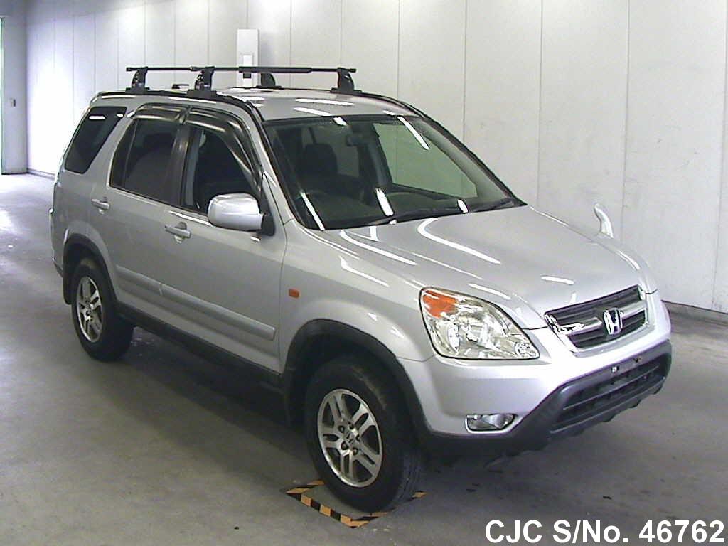 2002 honda crv silver for sale stock no 46762 japanese used cars exporter. Black Bedroom Furniture Sets. Home Design Ideas