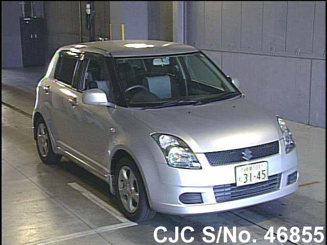 2006 suzuki swift silver for sale stock no 46855 japanese used rh carjunction com Suzuki Swift 2007 Suzuki Swift 2007