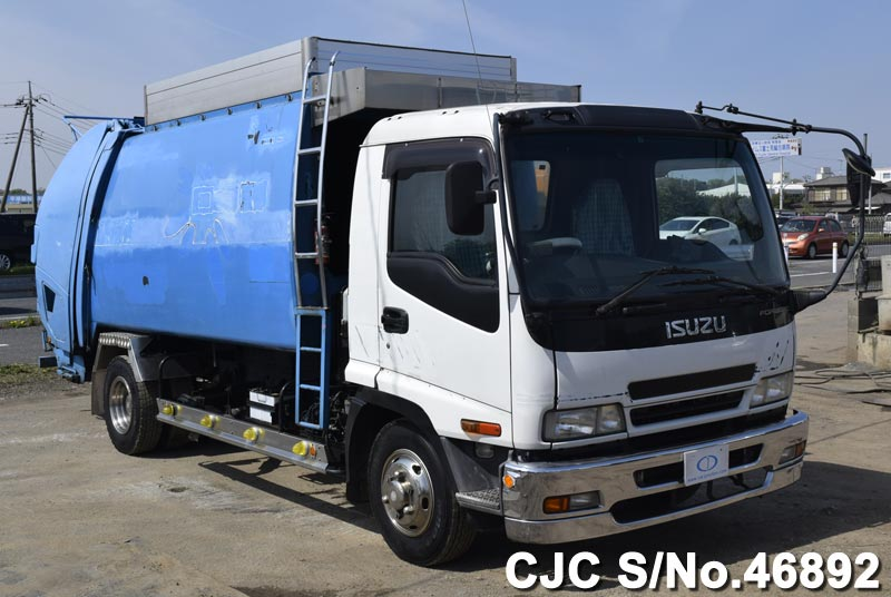 Isuzu Forward Garbage Trucks from Japan