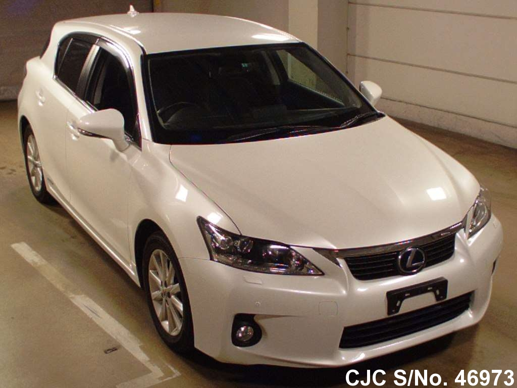 2011 lexus ct200h pearl for sale stock no 46973 japanese used cars exporter. Black Bedroom Furniture Sets. Home Design Ideas