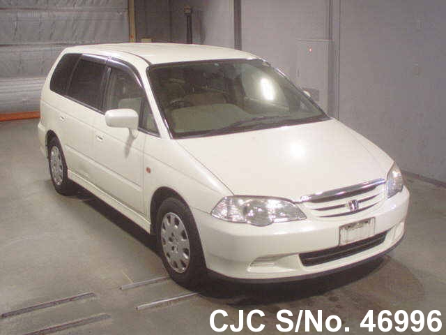 2001 honda odyssey pearl for sale stock no 46996 japanese used cars exporter. Black Bedroom Furniture Sets. Home Design Ideas