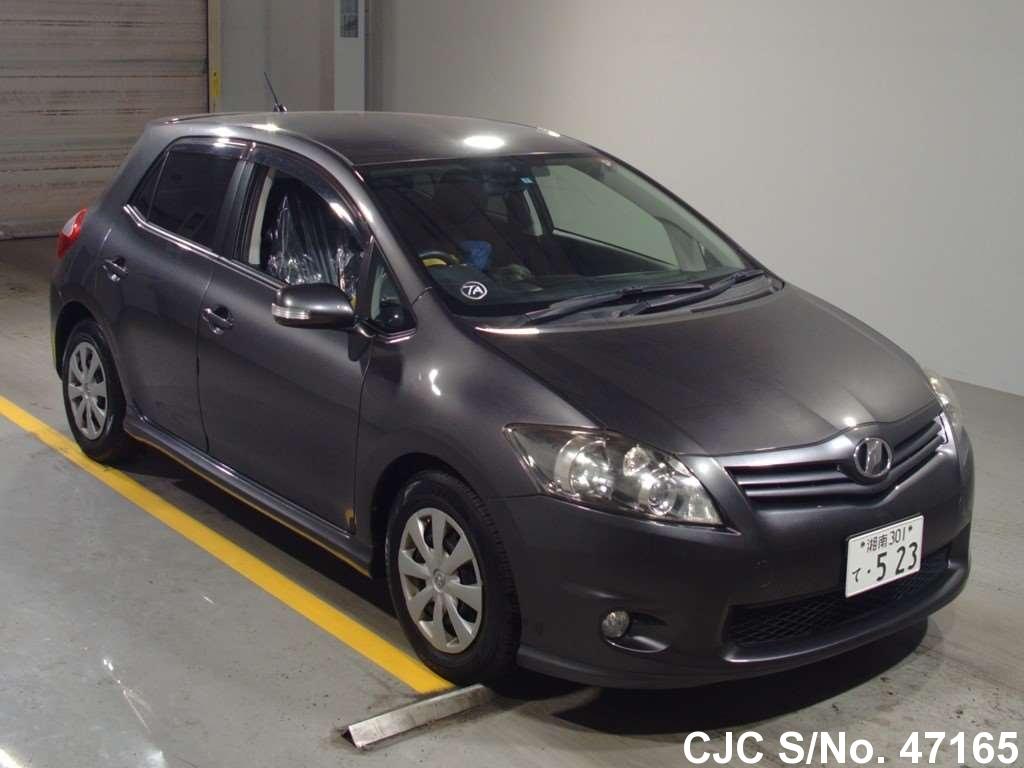 2010 toyota auris gray for sale stock no 47165. Black Bedroom Furniture Sets. Home Design Ideas