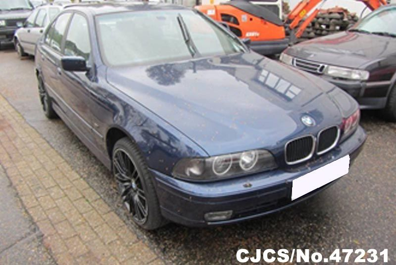1997 left hand bmw 5 series blue metallic for sale stock no 47231 left hand used cars exporter. Black Bedroom Furniture Sets. Home Design Ideas