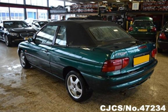 1998 left hand ford escort green metallic for sale stock no 47234 left hand used cars exporter left hand ford escort green metallic